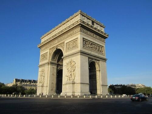 Triumphbogen Paris Gratis
